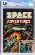 Golden Age (1938-1955):Science Fiction, Space Adventures #4 (Charlton, 1953) CGC VG 4.0 Cream to off-white pages....