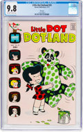 Bronze Age (1970-1979):Humor, Little Dot Dotland #55 File Copy (Harvey, 1972) CGC NM/MT 9.8Off-white to white pages....