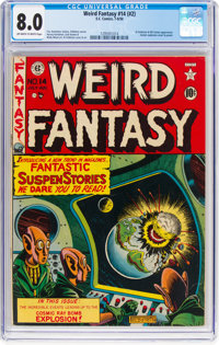 Weird Fantasy #14 (EC, 1952) CGC VF 8.0 Off-white to white pages