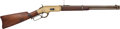 Long Guns:Lever Action, Winchester Model 1866 Lever Action Saddle Ring Carbine....