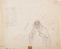 Animation Art:Color Model, Snow White and the Seven Dwarfs Old Hag with Apple ColorModel Drawing (Walt Disney, 1937)....
