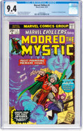 Bronze Age (1970-1979):Superhero, Marvel Chillers #1 Modred the Mystic (Marvel, 1975) CGC NM 9.4 White pages....