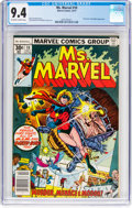 Bronze Age (1970-1979):Superhero, Ms. Marvel #10 (Marvel, 1977) CGC NM 9.4 Off-white to white pages....