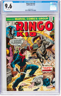 Bronze Age (1970-1979):Western, The Ringo Kid #25 (Marvel, 1974) CGC NM+ 9.6 White pages....
