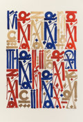 Prints & Multiples, RETNA (American, b. 1979). Braddock Tiles, 2013. Ink jet print on archival Canson Mi-Tientes paper. 19 x 13 inches (48.3...