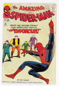 Silver Age (1956-1969):Superhero, The Amazing Spider-Man #10 (Marvel, 1964) Condition: GD/VG....