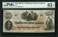 Confederate Notes:1862 Issues, T41 $100 1862 PF-53 Cr. 325A PMG Choice Uncirculated 63 EPQ.. ...