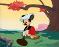 """Animation Art:Limited Edition Cel, Canine Caddy """"A Swell Day for Golf"""" Mickey Mouse One-of-OneCel Signed by Arnold Palmer (Walt Disney, 1997).... (Total: 2 )"""