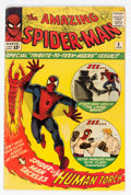 Silver Age (1956-1969):Superhero, The Amazing Spider-Man #8 (Marvel, 1964) Condition: VG....