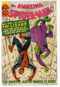 Silver Age (1956-1969):Superhero, The Amazing Spider-Man #6 (Marvel, 1963) Condition: ApparentVG/FN....