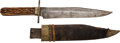 Edged Weapons:Knives, G. Wostenholm & Son Bowie Knife....