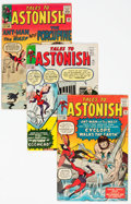 Silver Age (1956-1969):Superhero, Tales to Astonish Group of 4 (Marvel, 1963-67) Condition: AverageVG/FN.... (Total: 4 )