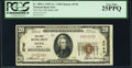 National Bank Notes:Maine, Bath, ME - $20 1929 Ty. 1 The First NB Ch. # 2743 PCGS Very Fine25PPQ.. ...