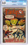 Silver Age (1956-1969):Superhero, Fantastic Four #8 (Marvel, 1962) CGC VG- 3.5 Off-white to whitepages....