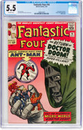 Silver Age (1956-1969):Superhero, Fantastic Four #16 (Marvel, 1963) CGC FN- 5.5 Off-white pages....