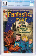 Silver Age (1956-1969):Superhero, Fantastic Four #45 (Marvel, 1965) CGC VG+ 4.5 Off-white to whitepages....