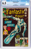 Silver Age (1956-1969):Superhero, Fantastic Four #50 (Marvel, 1966) CGC FN+ 6.5 Off-white to whitepages....