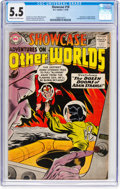 Silver Age (1956-1969):Superhero, Showcase #18 Adventures on Other Worlds (DC, 1959) CGC FN- 5.5Cream to off-white pages....
