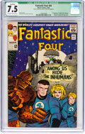 Silver Age (1956-1969):Superhero, Fantastic Four #45 (Marvel, 1965) CGC Qualified VF- 7.5 Off-whiteto white pages....