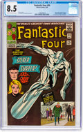 Silver Age (1956-1969):Superhero, Fantastic Four #50 (Marvel, 1966) CGC VF+ 8.5 Cream to off-whitepages....