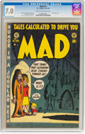 Golden Age (1938-1955):Humor, MAD #1 (EC, 1952) CGC FN/VF 7.0 Cream to off-white pages....
