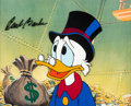 Animation Art:Production Cel, DuckTales Uncle Scrooge Production C...