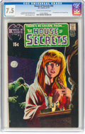 Bronze Age (1970-1979):Horror, House of Secrets #92 (DC, 1971) CGC VF- 7.5 Cream to off-white pages....