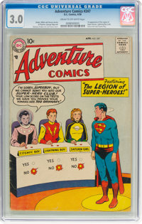 Adventure Comics #247 (DC, 1958) CGC GD/VG 3.0 Cream to off-white pages