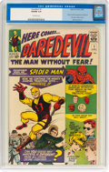 Silver Age (1956-1969):Superhero, Daredevil #1 (Marvel, 1964) CGC VG/FN 5.0 Off-white pages....