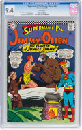 Silver Age (1956-1969):Superhero, Superman's Pal Jimmy Olsen #98 (DC, 1966) CGC NM 9.4 Whitepages....