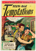 Golden Age (1938-1955):Romance, Teen-Age Temptations #4 (St. John, 1953) Condition: GD/VG....