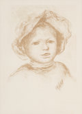 Prints & Multiples, Pierre-Auguste Renoir (French, 1841-1919). Pierre Renoir, de Face From L'Estampe Originale, 1893. Lithograph printed in ...