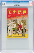 Golden Age (1938-1955):Humor, Tops In Humor #2 (Wise Publications, 1944) CGC NM+ 9.6 Off-white to white pages....