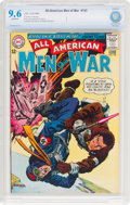 Silver Age (1956-1969):War, All-American Men of War #103 (DC, 1964) CBCS NM+ 9.6 Off-white pages....