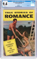 Golden Age (1938-1955):Romance, True Stories of Romance #1 Carson City Pedigree (FawcettPublications, 1950) CGC NM 9.4 White pages....
