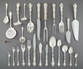 Silver Flatware, American:Gorham, A One Hundred Sixty-Piece Gorham Mfg. Co. Strasbourg PatternSilver Flatware Service, Providence, Rhode Island, ... (Total: 160Items)