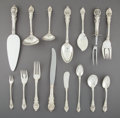 Silver & Vertu:Flatware, A One Hundred Eight-Piece Wallace Sir Christopher Pattern Silver Flatware Service, Wallingford, Connecticut,... (Total: 111 Items)