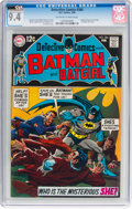 Silver Age (1956-1969):Superhero, Detective Comics #384 (DC, 1969) CGC NM 9.4 Off-white to whitepages....