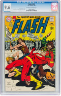Silver Age (1956-1969):Superhero, The Flash #185 (DC, 1969) CGC NM+ 9.6 Off-white to white pages....