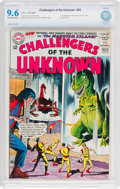 Silver Age (1956-1969):Superhero, Challengers of the Unknown #43 (DC, 1965) CBCS NM+ 9.6 Off-white towhite pages....