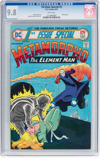 1st Issue Special #3 Metamorpho (DC, 1975) CGC NM/MT 9.8 White pages