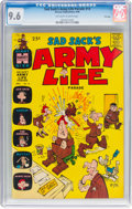 Silver Age (1956-1969):Humor, Sad Sack's Army Life Parade #13 File Copy (Harvey, 1966) CGC NM+ 9.6 Off-white to white pages....