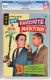 My Favorite Martian #9 File Copy (Gold Key, 1966) CGC VF/NM 9.0 Off-white pages