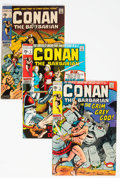 Bronze Age (1970-1979):Adventure, Conan the Barbarian Group of 46 (Marvel, 1970-79) Condition: Average VG/FN.... (Total: 46 Comic Books)