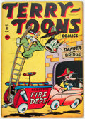 Golden Age (1938-1955):Funny Animal, Terry-Toons Comics #8 (Timely, 1943) Condition: VG/FN....