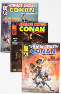 Magazines:Adventure, Savage Sword of Conan Group of 27 (Marvel, 1975-82) Condition: Average VG/FN.... (Total: 27 Comic Books)
