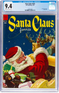 Golden Age (1938-1955):Miscellaneous, Four Color #525 Santa Claus Funnies (Dell, 1953) CGC NM 9.4 Cream to off-white pages....