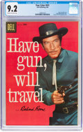 Silver Age (1956-1969):Western, Four Color #931 Have Gun, Will Travel (Dell, 1958) CGC NM- 9.2Cream to off-white pages....