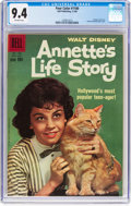 Silver Age (1956-1969):Miscellaneous, Four Color #1100 Annette's Life Story (Dell, 1960) CGC NM 9.4 Off-white pages....