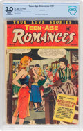 Golden Age (1938-1955):Romance, Teen-Age Romances #34 (St. John, 1953) CBCS GD/VG 3.0 Whitepages....